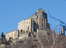 The Sacra di San Michele royalty free stock images
