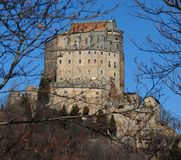 The Sacra di San Michele Royalty Free Stock Photography