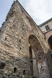 Sacra di San Michele - Heiliges Michael Abbey, Italien Stockfotografie