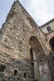 Sacra di San Michele - helgon Michael Abbey, Italien Arkivbild