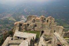 Sacra di San Michele, Italien Lizenzfreies Stockfoto