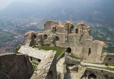 Sacra di San Michele, Italien Stockfoto