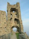 Sacra di San Michele, italienische mittelalterliche Abtei Lizenzfreies Stockbild