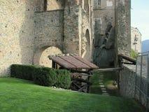 Sacra di San Michele, italienische mittelalterliche Abtei Stockbilder