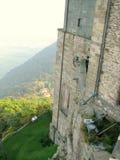 Sacra di San Michele, italienische mittelalterliche Abtei Stockbild