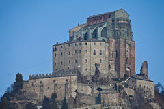 Sacra di San Michele - Italy Stock Photo