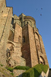 Sacra di San Michele, Italy. Sacra di San Michele, St. Michael Abbey, Italy. Outer walls Royalty Free Stock Photography