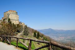 Sacra di San Michele, Italy Royalty Free Stock Images
