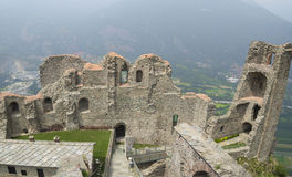 Sacra di San Michele ,Italy Royalty Free Stock Images