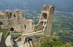 Sacra di San Michele ,Italy Royalty Free Stock Photography