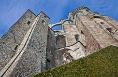 Sacra di San Michele - l'Italia fotografia stock