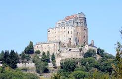 Sacra di San Michele on Mount Pirchiriano, Italy Royalty Free Stock Images
