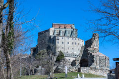 The Sacra di San Michele, Piedmont, Italy Royalty Free Stock Images