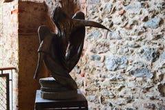 Sacra di San Michelle imagen de archivo libre de regalías