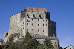 Sacra of san michele Royalty Free Stock Images