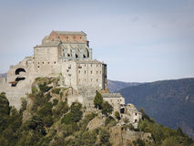 Sacra of san michele Stock Image
