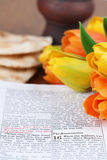 Sacra scrittura di Pasqua Immagini Stock Libere da Diritti