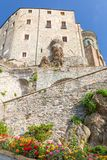 Sacra von St Michael, Piemont, Turin, Italien Stockbilder