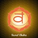 Sacral Chakra Royalty Free Stock Photos