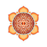 The Sacral Chakra Mandala Royalty Free Stock Photo