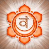 Sacral Chakra Symbol Royalty Free Stock Photos