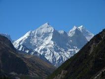 Sacral Himalayagebergte Stock Foto's