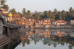 Sacral Pond Koti Tirtha Royalty Free Stock Photos