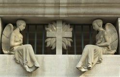 Sacral skulpturer royaltyfri fotografi