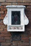 Sacral window in Venice Royalty Free Stock Image