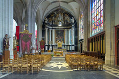 Sacrament chapel in Cathedral of Our Lady in Antwerp, Belgium Stock Images