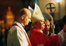 Sacrament of confirmation Stock Image