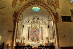 sacrament för helgedom för domkyrkakapellgemona Royaltyfri Foto