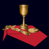 The sacrament - illustration Royalty Free Stock Image