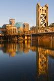 Sacramento au coucher du soleil photos libres de droits