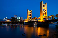 Sacramento Bridge Stock Image