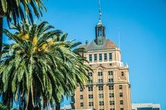 Sacramento california cityscape skyline on sunny day stock photo