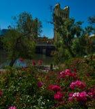 Sacramento California. Sunny Day in Sacramento California Vertical Composition stock image