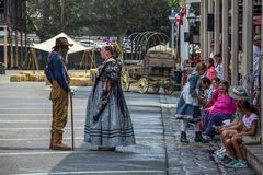 Gold Rush Days 2017 Stock Photos