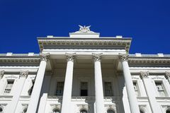 Sacramento Capitol Royalty Free Stock Photos