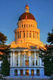 Sacramento capitol Royalty Free Stock Photography