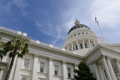 Sacramento Capitol Building Royalty Free Stock Photography