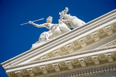 Sacramento Capitol Building in California stock image