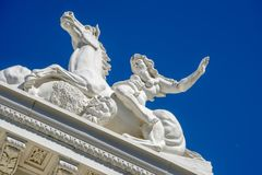 Sacramento Capitol Building in California stock images