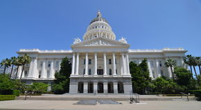 Sacramento Capitol Building, California Royalty Free Stock Photo