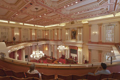 Sacramento Capitol interior meeting place. Stock Photography