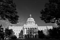 Sacramento Capitolbyggnad Arkivbild