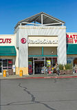 SACRAMENTO, ETATS-UNIS - 23 SEPTEMBRE : Magasin de Radio Shack le 23 septembre Photo libre de droits