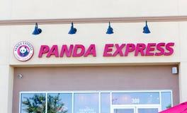 SACRAMENTO, EUA - 13 DE SETEMBRO: Restaurante de Panda Express no Sept Fotografia de Stock