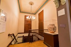 Interior view of the beautiful Crocker Art Museum Royalty Free Stock Photos