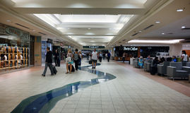 Sacramento International Airport, California. Terminal area of the Sacramento International Airport, California stock photo
